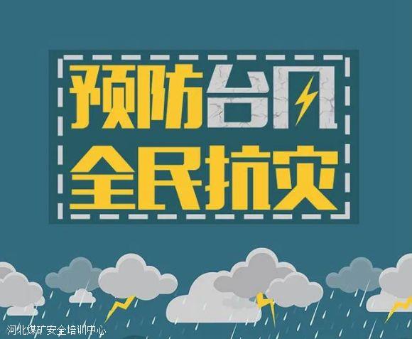 图说:台风来了,怎么办?