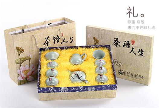 定制印LOGO茶壶
