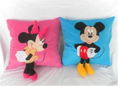 卡通抱枕定制-米老鼠