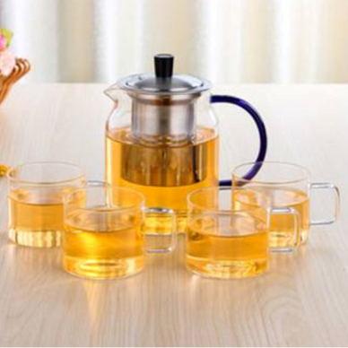 玻璃茶壺套裝