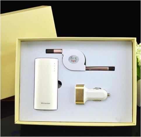 套装礼品-数据线+电源+USB车充