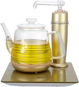 自动上水玻璃养生壶-联创