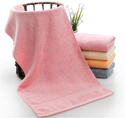 新品竹纤维毛巾