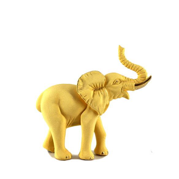 工艺品绒沙金-大象