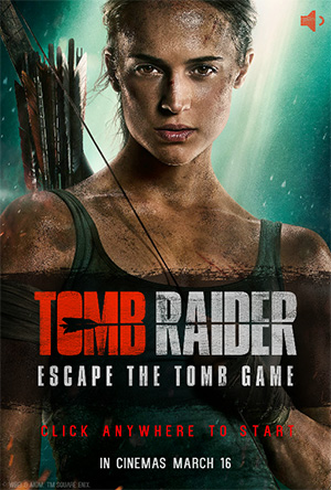 古墓大逃亡 Tomb Raider - Escape The Tomb Game