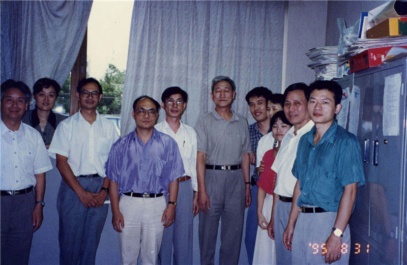 一九九五年走访深圳市专利服务中心