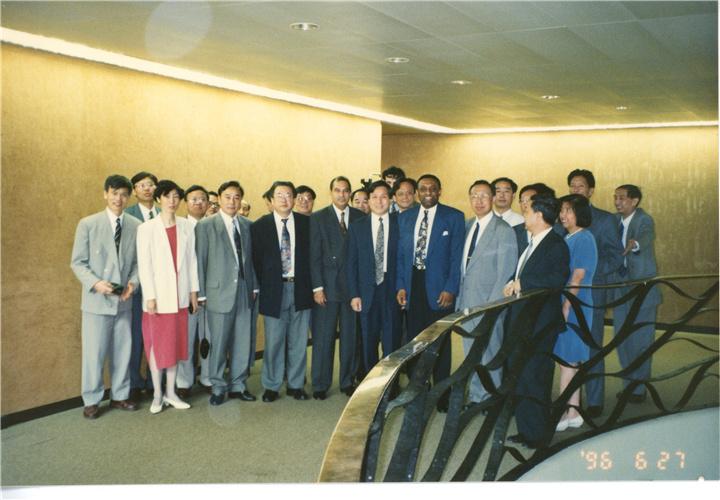 一九九六年走访世界知识产权组织
