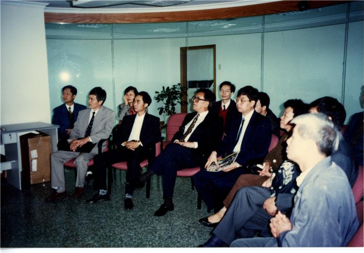 一九九六年走访深圳华为技术有限公司
