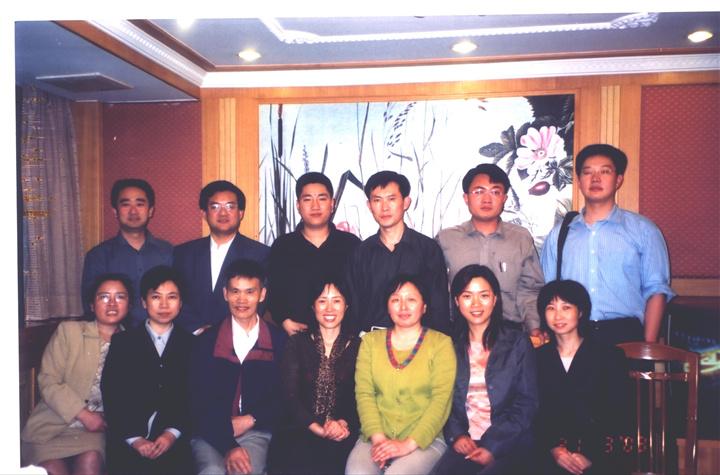 二OO二年部分通过全国专利代理人资格考试培训班学员合影