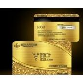 PVC卡名片门票印刷