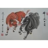 牛气十足-曹凌云国画
