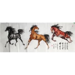 三俊图-曹凌云国画