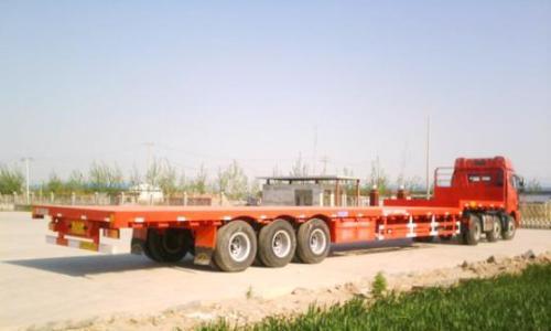 绵阳到上饶物流专线公司-17.5平板车运输车型