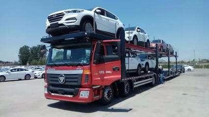 成都到新疆轎車托運公司-私家車托運每天發車