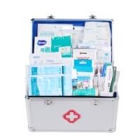 A36户外急救箱带药品含药套装医药箱套装医疗箱启业套装