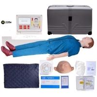 CPR救生训练假人心肺复苏彩屏数码语音电脑全身  电脑操作 触摸屏