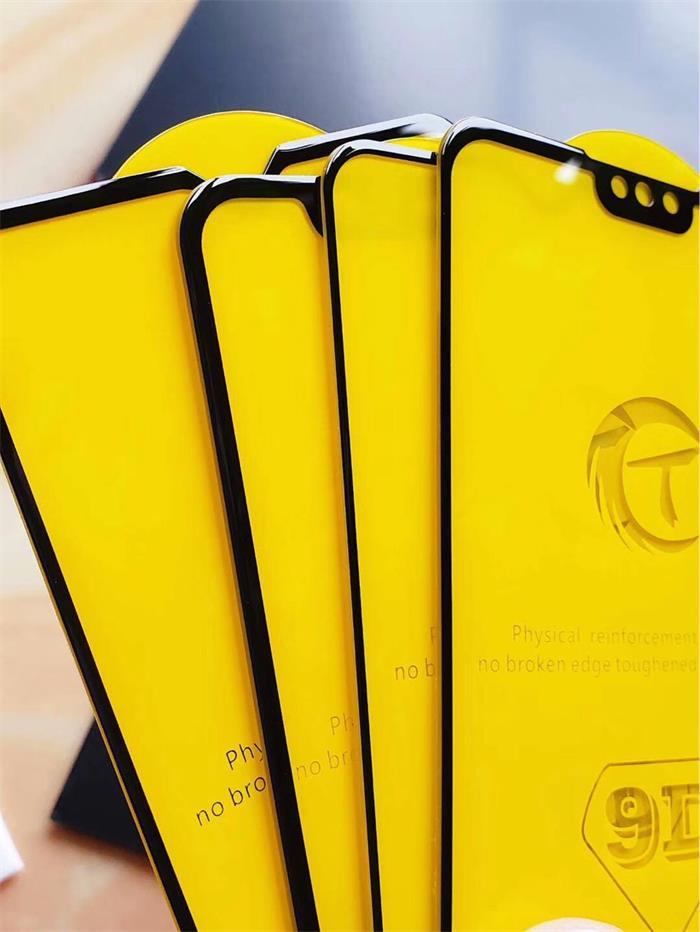 vivonex全屏大弧满屏9D二强丝印手机贴膜钢化玻璃防爆膜