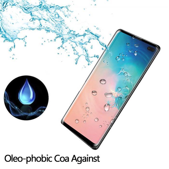 产品名称:三星Galaxy S10 Plus 手机贴膜屏幕保护膜,高清透明无气泡 9H 硬度钢化玻璃屏幕保护膜,兼容三星盖乐世 S10 PlusS10+(支持屏幕内指纹 ID)