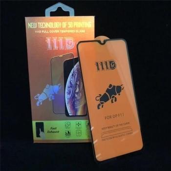 OPPOF11全屏大弧满屏111D二强丝印手机贴膜钢化玻璃屏幕防爆保护膜