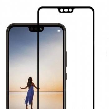 华为nova3e全屏大弧满屏9D二强丝印手机贴膜钢化玻璃防爆膜