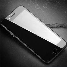 苹果iPhone6P/5.5全屏大弧满屏高清冷雕带防尘网手机贴膜钢化玻璃屏幕防爆保护膜