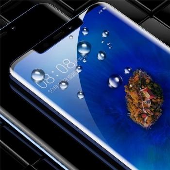 华为mate20 PRO曲面全胶手机贴膜钢化膜 0.25mm超薄 日本旭硝子 9H硬度防爆防刮花 高清清透保护膜 HUAWEI mate20 Pro适用