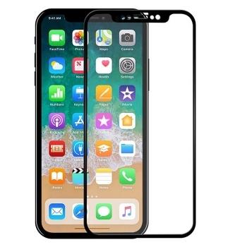 苹果iPhoneXR6.1全屏大弧满屏高清冷雕带防尘网手机贴膜钢化膜 iPhone XR钢化膜 苹果 XR 全屏膜 曲面全覆盖高清手机膜 玻璃防爆贴膜 耐用防划保护膜 9H硬度 圆边设计 适用于Apple XR(iPhoneXR 6.1寸)