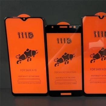 三星A10全屏大弧满屏111D二强丝印手机贴膜钢化玻璃屏幕防爆保护膜