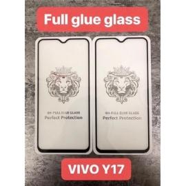 VIVO Y17狮子头全屏大弧满屏二强丝印手机贴膜钢化玻璃屏幕防爆保护膜