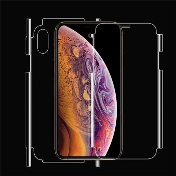 苹果iphonexr全屏覆盖手机贴膜水凝膜