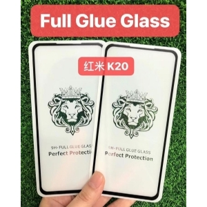 红米K20狮子头全屏大弧满屏二强丝印手机贴膜钢化玻璃屏幕防爆保护膜