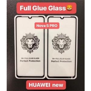 华为Nova 5pro狮子头全屏大弧满屏手机贴膜钢化玻璃屏幕防爆保护膜