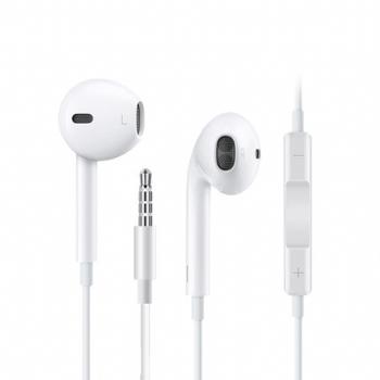 苹果原装正品耳机iphone5 6s Plus 7p 8 X手机线控七耳麦塞苹果iPhone X 7 8plus耳机线 ipad通话耳机线正品