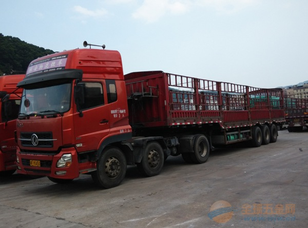 广元物流公司-13米高栏车