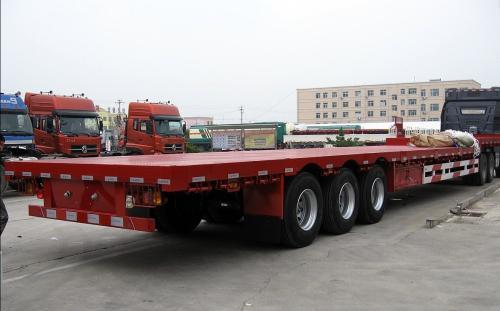 成都到内蒙古物流公司17.5平板车