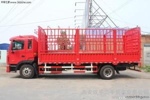 成都到上海物流运输6.8高栏车型