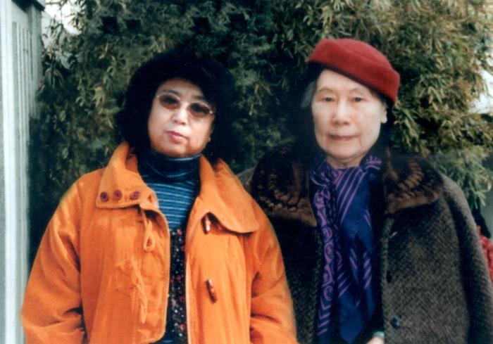 爱新觉罗·漫娘和徐悲鸿夫人廖静文