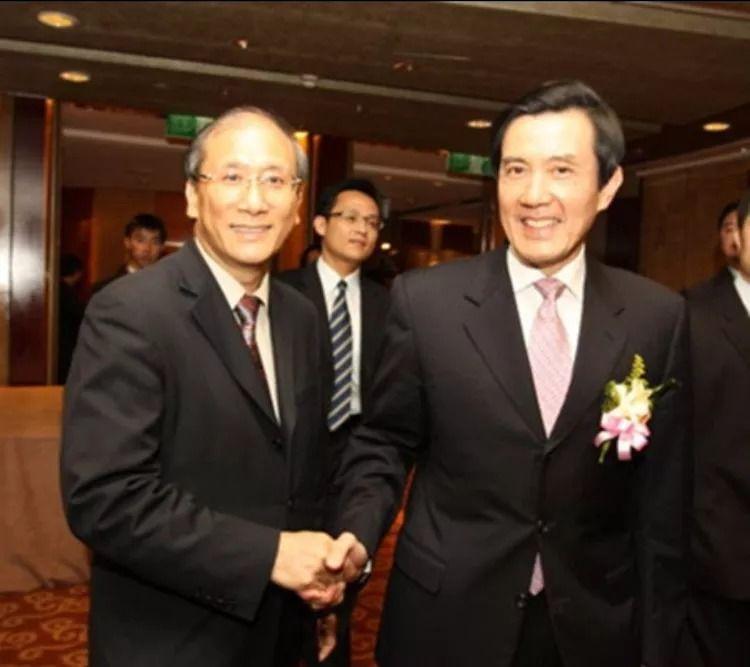 蔡丰名博士与杰出政治家学者马英九先生