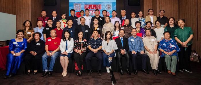 中国书画家协会艺术家在马来西亚活动开幕现场