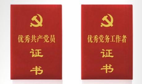 证书定制-优秀党务工作者