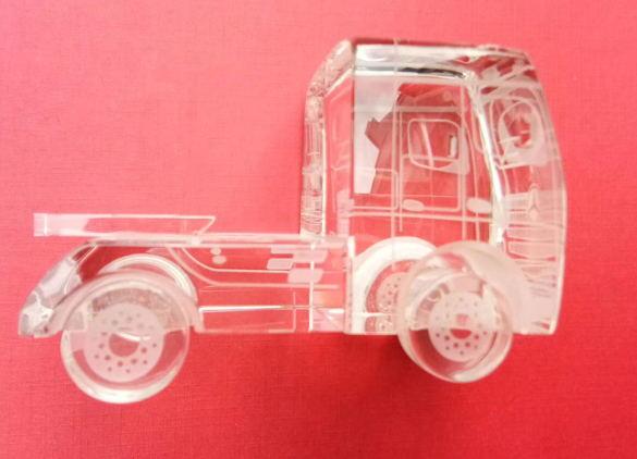 水晶模型-卡车水晶模型