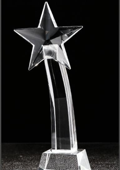徐州水晶奖杯-五角星