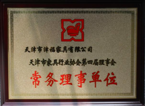 木质奖牌-常务理事单位